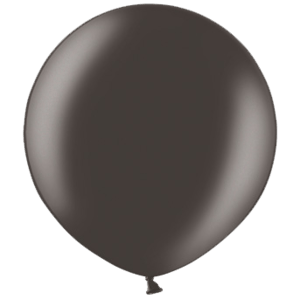 2ft Metallic Black Giant Latex Balloon Product Display