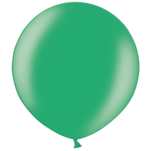 2ft Metallic Turquoise Giant Latex Balloon Product Display