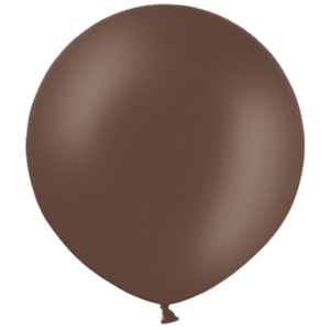 2ft Cocoa Brown Giant Balloons Product Display