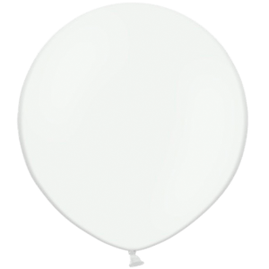 3ft  White Giant Balloons Product Display
