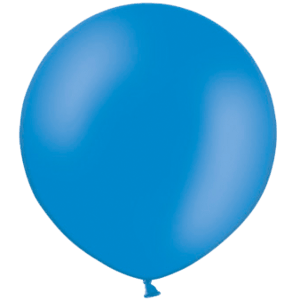 3ft Mid Blue Giant Balloons Product Display