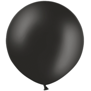 3ft Black Giant Balloons Product Display