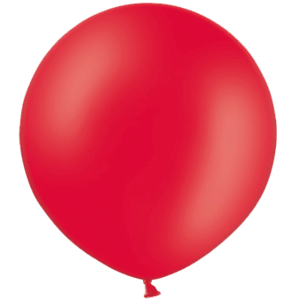 3ft Red Giant Balloons Product Display