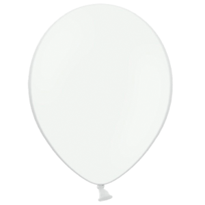 """10"""" White Balloons Product Display"""