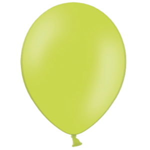 "10"" Apple Green Balloons"