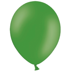 "10"" Leaf Green Balloons"