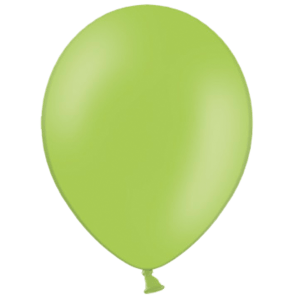 "10"" Lime Green Balloons Product Display"