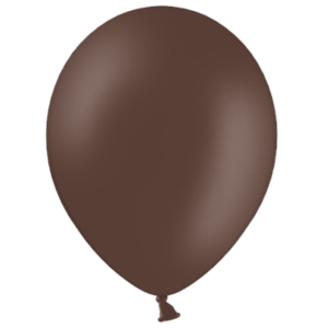 "10"" Cocoa Brown Balloons Product Display"
