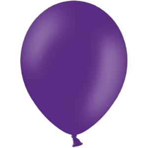 "10"" Royal Purple Balloons Product Display"