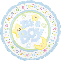 New Baby Boy Balloon in a Box