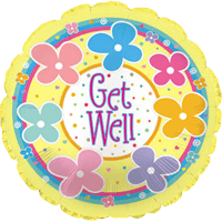 Get Well Dots & Daisies