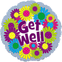 Get Well Patchwork Daisies