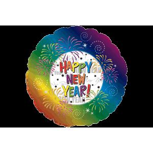 New Year Firework Display Balloon in a Box