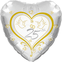 25th Anniversary Doves