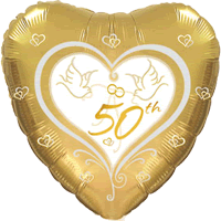 50th Anniversary Doves