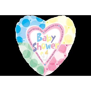 Baby Shower Heart Balloon in a Box