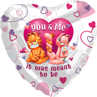 You and Me Garfield Love