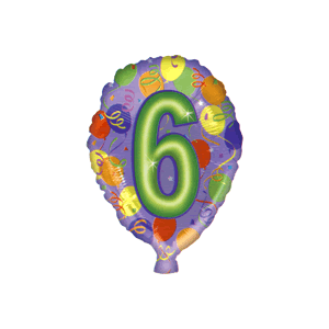 Six Party Balloon in a Box