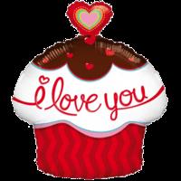 Heart Cupcake I Love You