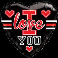 Heart I Love You Gellibean Letterman