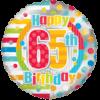 65th Birthday category