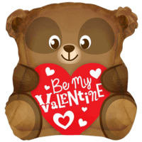 Be My Valentine Cute Bear
