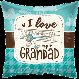 "18"" Love My Grandad Balloon in a Box"