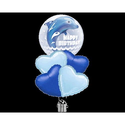 Double Bubble Dolphin Birthday