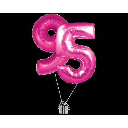 Pink 95 Big Numbers