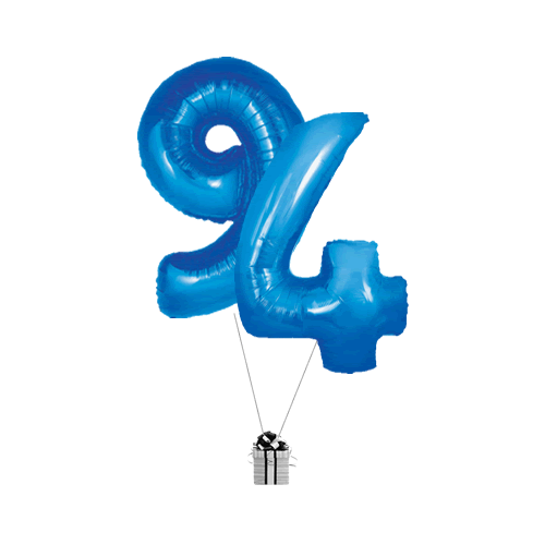 Blue 94 Big Numbers