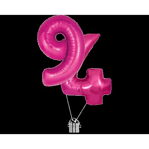 Pink 94 Big Numbers