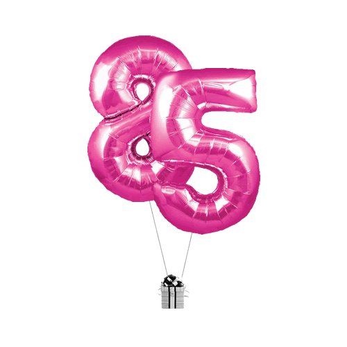 Pink 85 Big Numbers