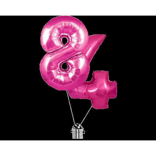 Pink 84 Big Numbers