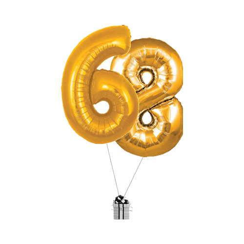 Gold 68 Big Numbers