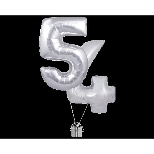 Silver 54 Big Numbers