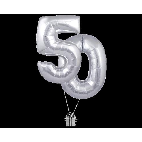Silver 50 Big Numbers