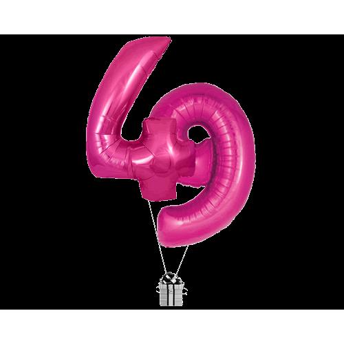 Pink 49 Big Numbers
