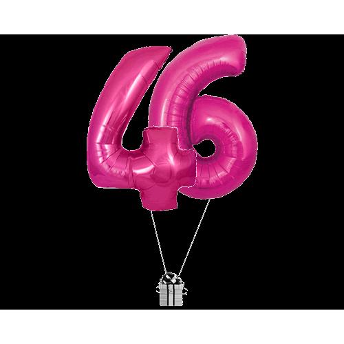 Pink 46 Big Numbers