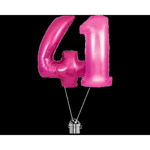Pink 41 Big Numbers