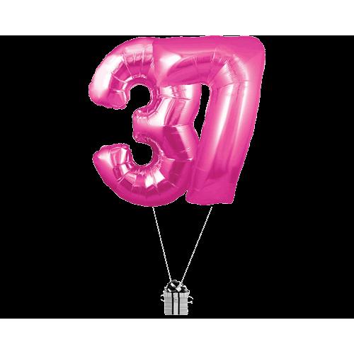 Pink 37 Big Numbers
