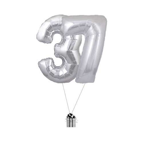 Silver 37 Big Numbers