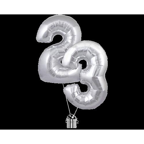 Silver 23 Big Numbers