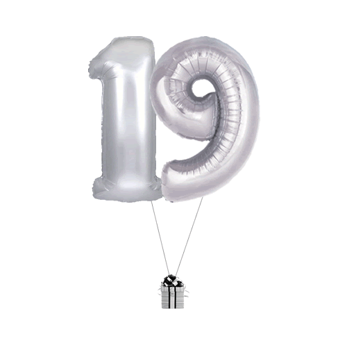 Silver 19 Big Numbers