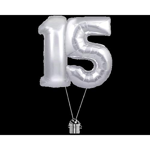 Silver 15 Big Numbers