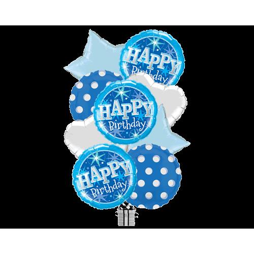 Birthday Spots Holographic