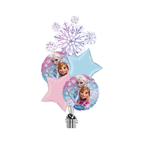 Frozen Snowflake Holographic