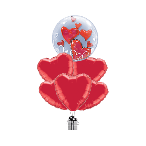 Floating Love Hearts