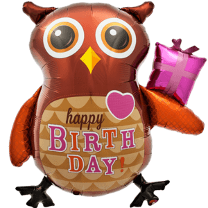 Ollie the Owl Happy Birthday
