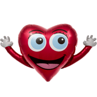Happy Heart Hands Balloon in a Box