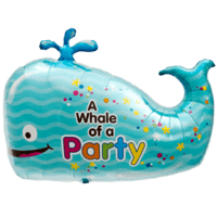 Whale Of A Party Balloon in a Box